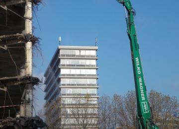 CityNord 69 WIWA Abbruch Hamburg